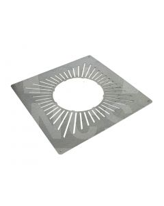 """6"""" Twin Wall Vented Firestop Spacer"""